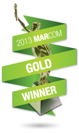 2013 MarCom Gold Award Winner